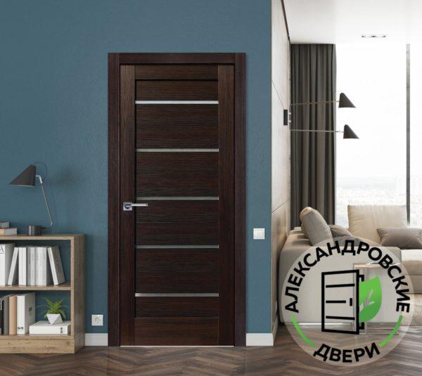 Межкомнатная дверь Александра вельвет