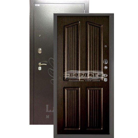 Входная дверь Берлога 3К Лондон Венге