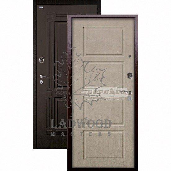 Входная дверь Берлога Оптима+ Триумф Геометрия ларче