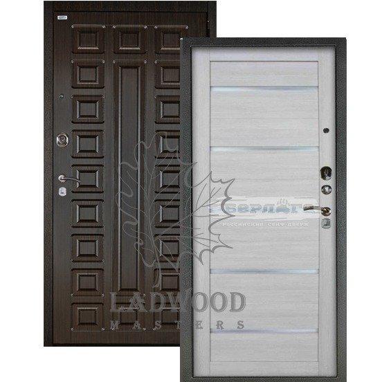 Входная дверь Берлога 3К 2П СЕНАТОР_АЛЕКСАНДРА Буксус