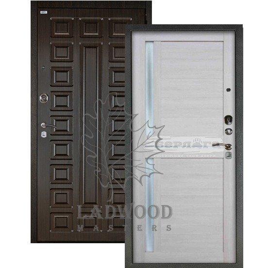 Входная дверь Берлога 3К 2П СЕНАТОР_МИРРА Буксус