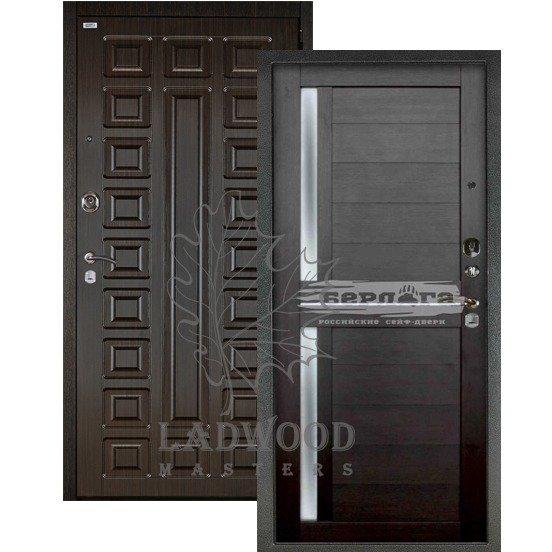 Входная дверь Берлога 3К 2П СЕНАТОР_МИРРА Вельвет